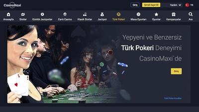 CasinoMaxi Casino Oyunlari